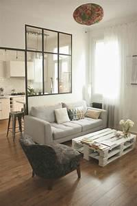 Table De Salon Originale : la table basse palette 60 id es cr atives pour la fabriquer ~ Preciouscoupons.com Idées de Décoration