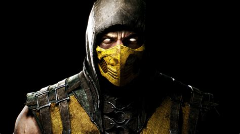Mortal Kombat Scorpion Wallpaper Wallpaper Scorpion Mortal Kombat X Pc Games Xbox One Ps4 Games 24