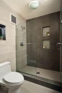 Kleines Badezimmer Einrichten : begehbare dusche kleines bad einrichten badezimmer ~ Michelbontemps.com Haus und Dekorationen