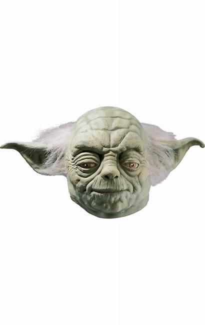 Yoda Silhouette Head Wars Transparent Mask Pngio