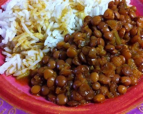 cuisiner des lentilles en boite recette des lentilles à la marocaine and co