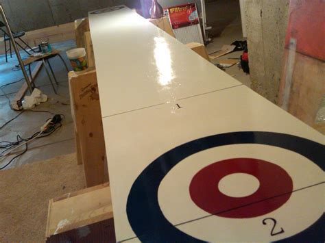 making a shuffleboard table build a shuffleboard table the playing surface how to