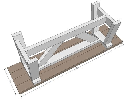 ana white build  providence bench   easy diy