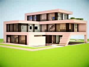 Modern Minecraft Mansion Minecraft Modern House, modern ...