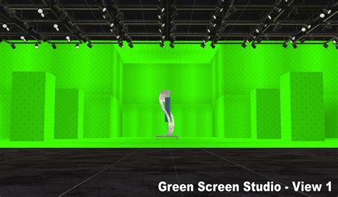 mod the sims nci green blue wall photo studio