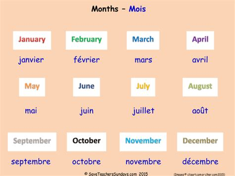 months in french ks2 worksheets activities and flashcards by saveteacherssundays teaching