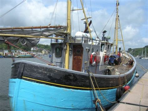 Converted Fishing Boats For Sale Scotland by Complete Scottish Wooden Fishing Boat For Sale Easy Build