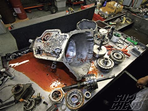 To Rebuild by Rebuilding A Th400 Automatic Transmission To Handle