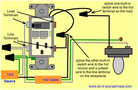 Electrical How Can Wire Gfci Combo Switch That