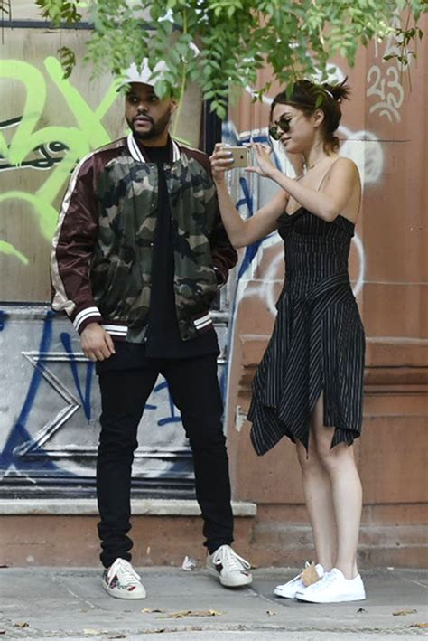 Selena Gomez With The Weeknd - Out in Buenos Aires 3/28 ...