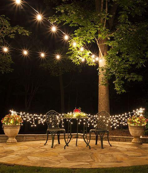 Backyard Lights by Top 25 Best Outdoor Patio Lighting Ideas On