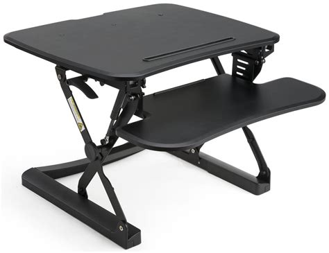 keyboard riser standing desk gas lift