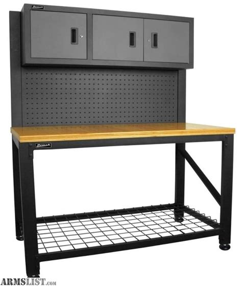 armslist  sale homak reloading workbench bench