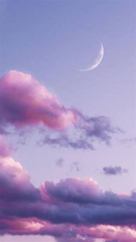 purple sky aesthetic iphone wallpaper sky purple