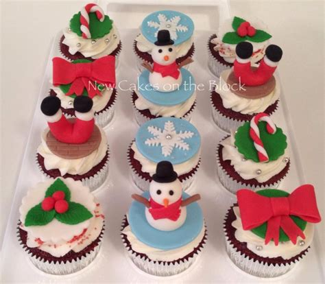 christmas themed cupcakes cakecentral com