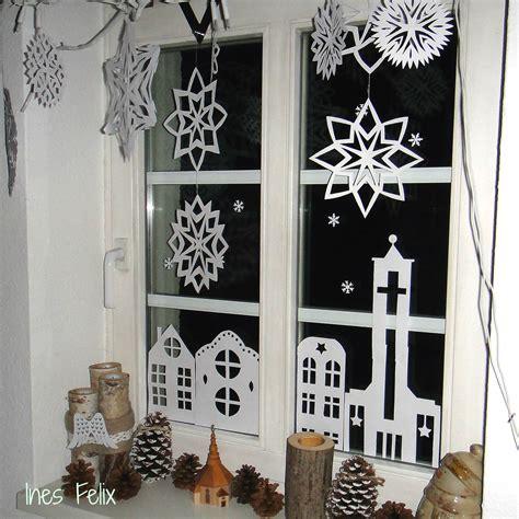 Deko Weihnachten Fenster by Weihnachtsdeko Basteln Fenster
