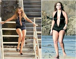 Mariah Carey`s height, weight. She is an adherent of curvy ...