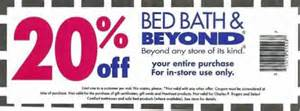 Coupons Bed Bath Beyond Photo