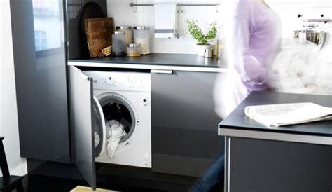 lave cuisine caser le lave linge dans la cuisine