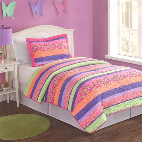 Pink And Orange Bedding For The Bedroom