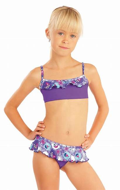 Bikini Panties Low Swimwear Litex Ruffle Litexshop