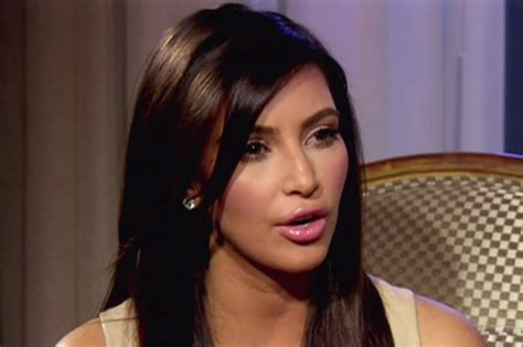"""Kim Kardashian Gets """"real About Her Sex Tape Sheknows"""