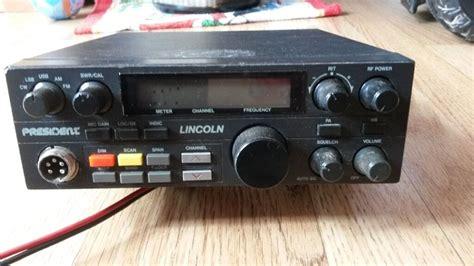Cb Lincoln Modification by President Lincoln Mk1 Cb Ham Radio In Plymouth