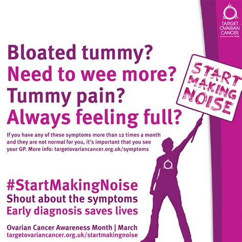Crank Up The Volume For Ovarian Cancer Awareness Month. Yearly Signs. Normal Signs. Chain Restaurant Signs Of Stroke. Tea Room Signs Of Stroke. Gold Signs. Bussiness Signs. Statistics Infographic Signs. Periods Signs