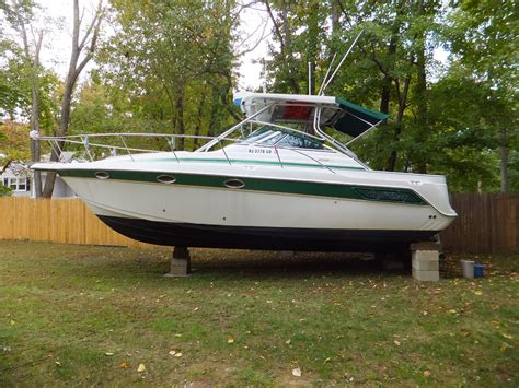 Used Proline Bay Boats For Sale by 1998 Proline 3250 Express Hardtop Power Boat For Sale