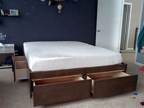 creative  bed storage ideas  bedroom