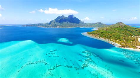 Nature Backgrounds Download Bora Bora Island In French