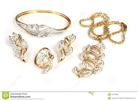 Jewelry Set Royalty Free Stock Images - Image: 12473989