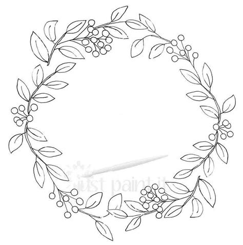 fall wreath coloring pages kit autumn wreath drawing