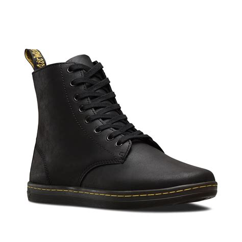 dr martens canada dr martens tobias mens leather casual boots  black greasy lamper black