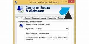 Script De Connexion Bureau Distance Mstsc Windows