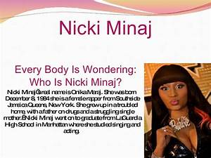 Nicki Minaj V.S Lil Mama Presentation
