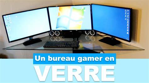 pc bureau gamer pas cher réaliser un bureau gamer en verre pas cher