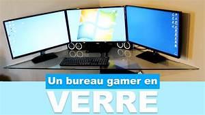 Construire Un Bureau : r aliser un bureau gamer en verre pas cher youtube ~ Melissatoandfro.com Idées de Décoration