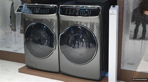maj ces 2017 samsung s essaie au lave linge et au s 232 che linge duo