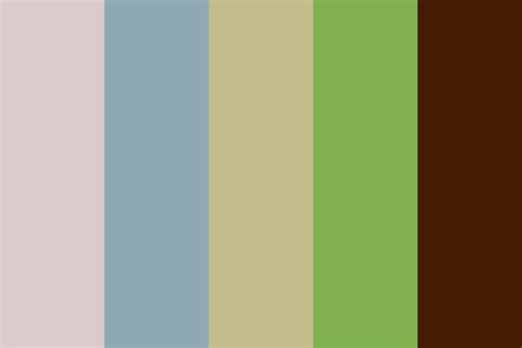 Earth Tones Color Palette