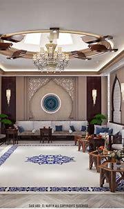 Arabic majlis in Dubai on Behance | Interior design dubai ...