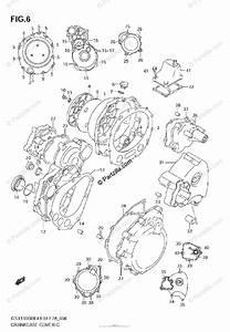 Suzuki Motorcycle 2006 Oem Parts Diagram For Crankcase