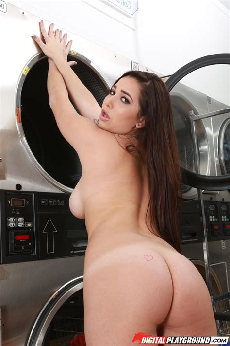 Busty Babe Is Washing Clothes And Fucking Photos Karlee