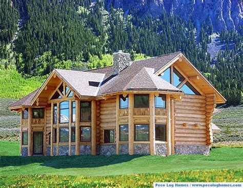 peco log homes log home pictures