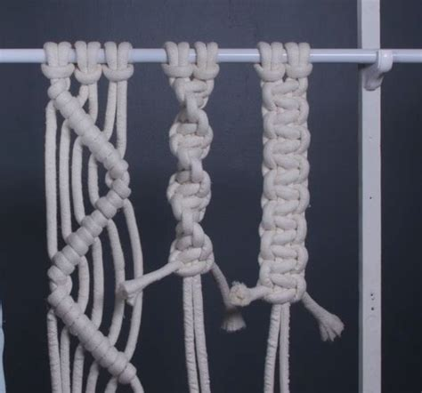 macrame knots how to make four basic macrame knots diy projects craft ideas how to s for home decor with videos