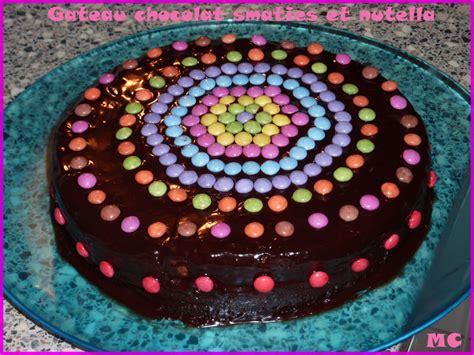 chartreuse cuisine gâteau au chocolat et aux smarties