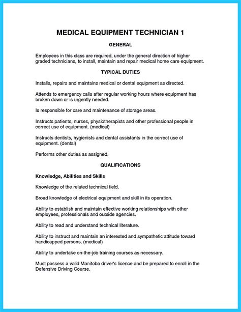 how to make cable technician resume that is really