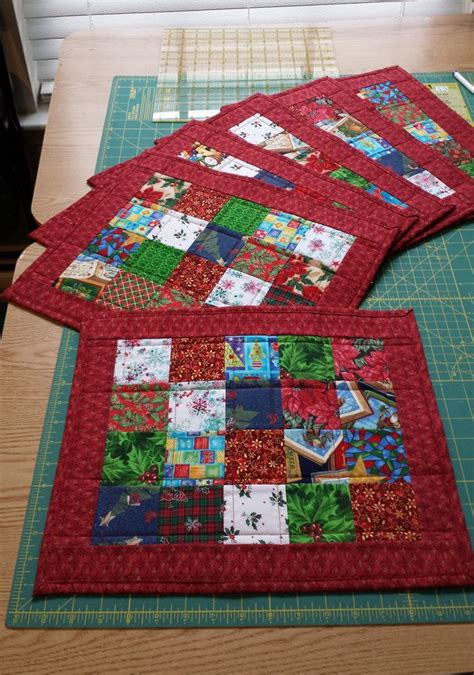 quilted placemats patterns 17 best images about placemats on