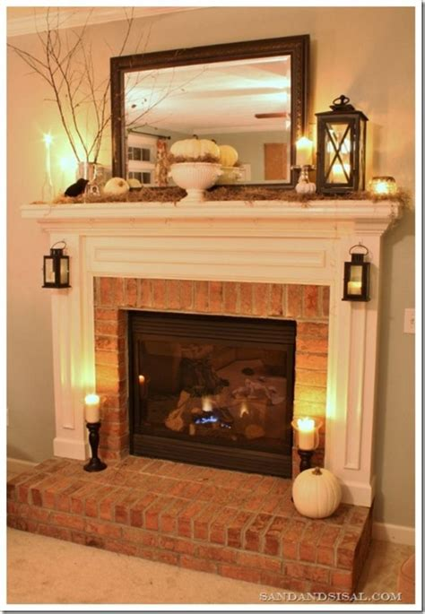 Easy Brick Fireplace Makeover - 25 best fireplace makeovers ideas on brick