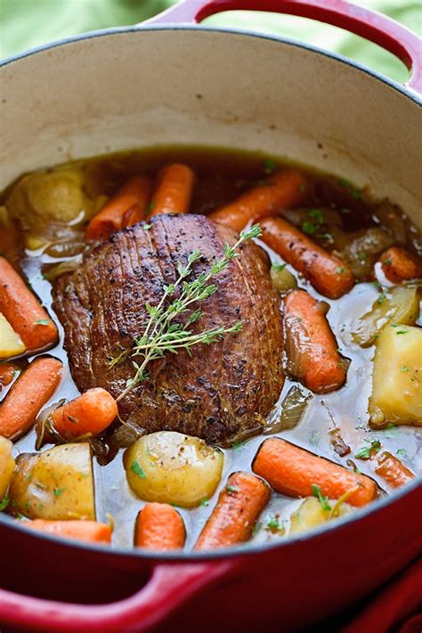 how to make a pot roast best ever pot roast with carrots and potatoes recipe